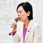 衆議院議員 畑野 君枝さん